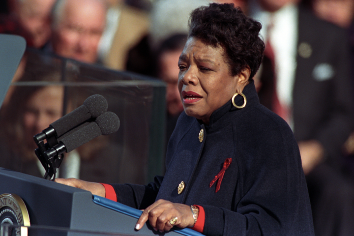 Black Moment Maya Angelou